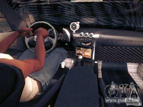 Chevrolet Corvette C6 Z06 Tuning for GTA San Andreas engine