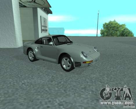 PORSHE 959 for GTA San Andreas
