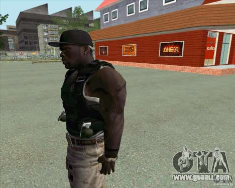 50 Cent for GTA San Andreas third screenshot