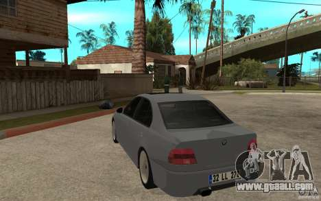 BMW 523i CebeL Tuning for GTA San Andreas back left view