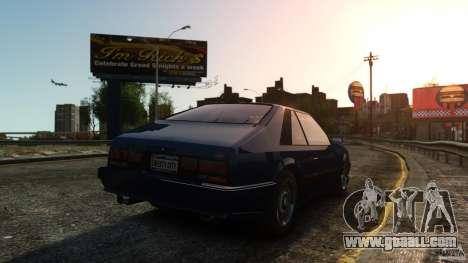 Uranus Hatchback for GTA 4 right view