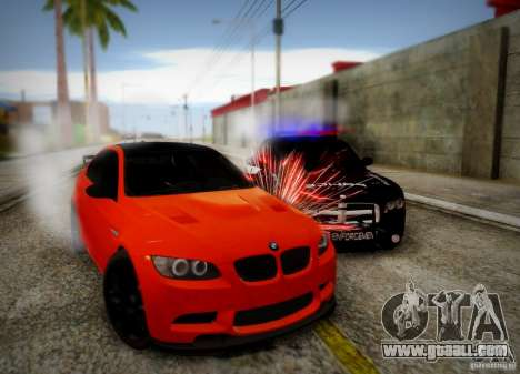 BMW M3 GT-S for GTA San Andreas upper view