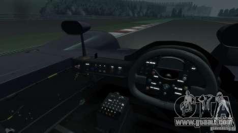 BMW V12 LMR 1999 EPM v1.0 for GTA 4 inner view
