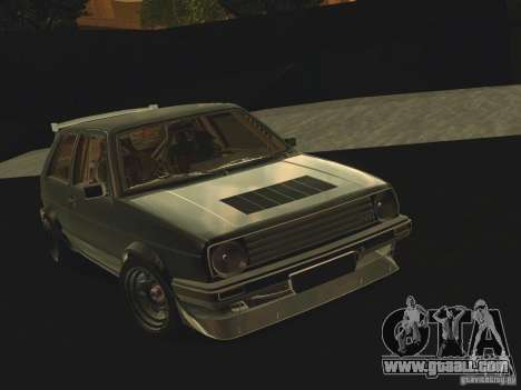 Volkswagen Golf MkII Racing for GTA San Andreas side view