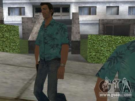 New skins Grove Street for GTA San Andreas second screenshot