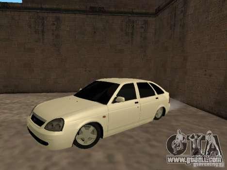 LADA 2170 Hatchback for GTA San Andreas