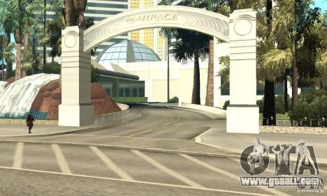 Welcome to Las Vegas for GTA San Andreas fifth screenshot