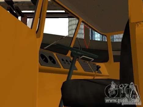 KAZ 608 for GTA San Andreas back view