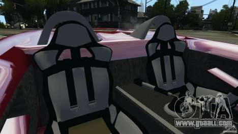 K-1 Attack Roadster v2.0 for GTA 4 inner view