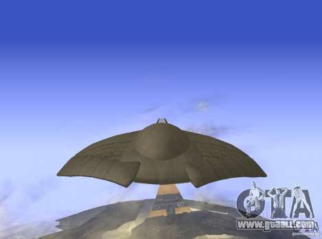 Death Glider for GTA San Andreas back left view