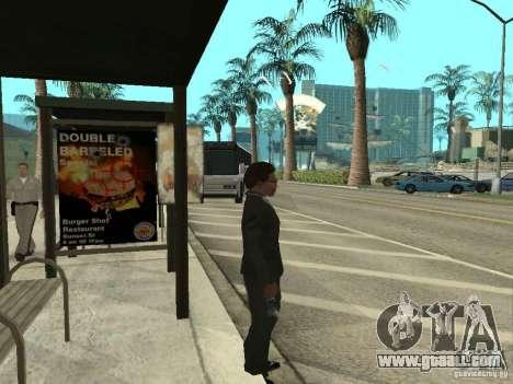 Bus line in Las Venturas for GTA San Andreas forth screenshot
