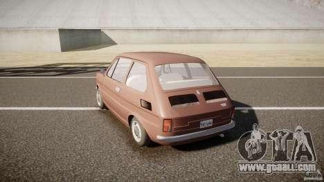 Fiat 126 for GTA 4 back left view