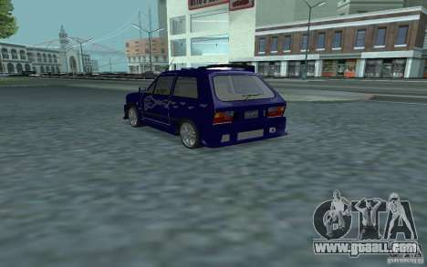 Yugo 45 Tuneable for GTA San Andreas back left view
