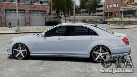 Mercedes-Benz S65 W221 Vossen v1.2 for GTA 4 left view