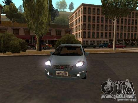 Fiat Linea T-jet for GTA San Andreas left view