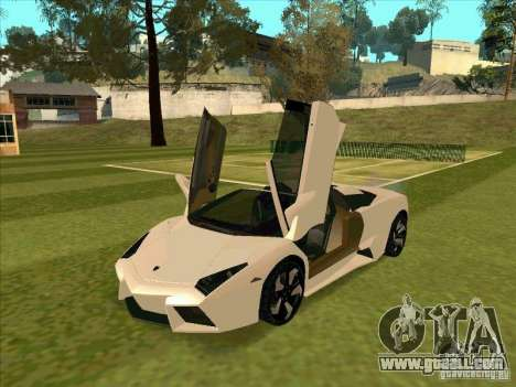 Lamborghini Reventon Convertible for GTA San Andreas left view