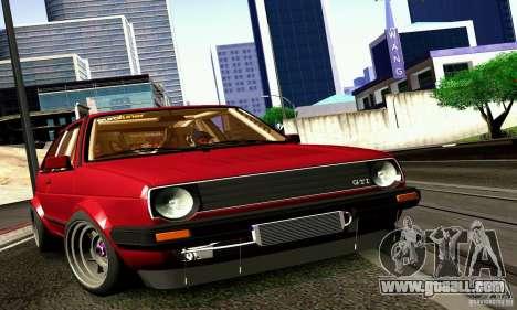 Volkswagen Golf MkII Racing for GTA San Andreas