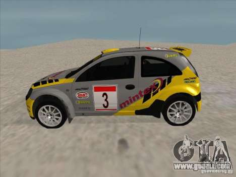 Opel Rally Car for GTA San Andreas left view