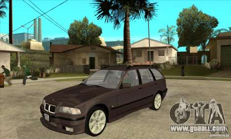BMW 318i Touring for GTA San Andreas left view