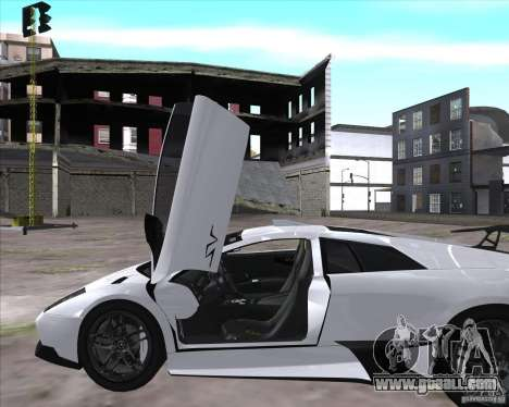 Lamborghini Murcielago LP670-4 SV for GTA San Andreas right view