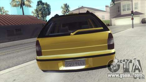 Fiat Palio Weekend 1997 for GTA San Andreas left view