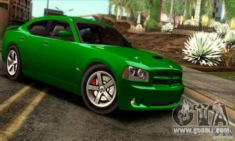 Dodge Charger SRT8 for GTA San Andreas inner view