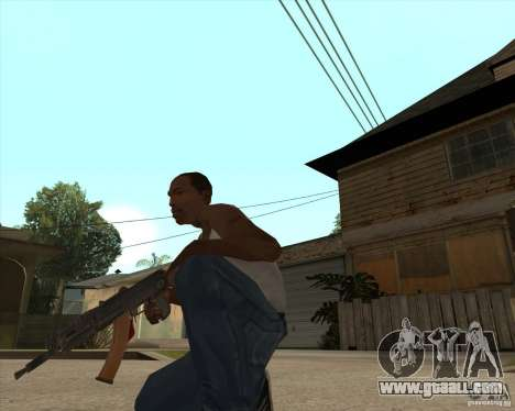AK74U for GTA San Andreas second screenshot