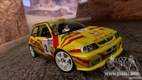Seat Ibiza Rally for GTA San Andreas