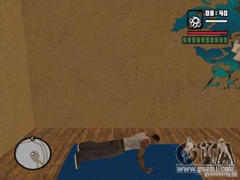 Training and Charging for GTA San Andreas second screenshot