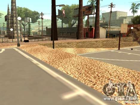 The new basketball court in Los Santos for GTA San Andreas forth screenshot