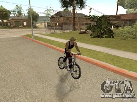 Hide-get weapons in the car for GTA San Andreas second screenshot