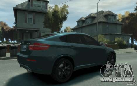 BMW X6-M 2010 for GTA 4 right view