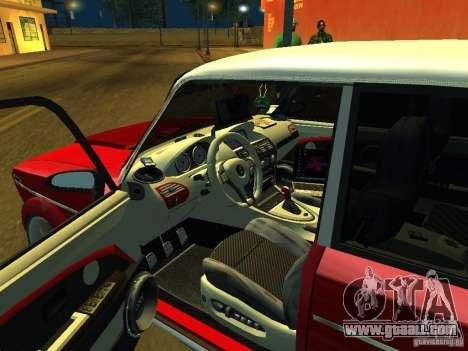 VAZ 2103 for GTA San Andreas inner view