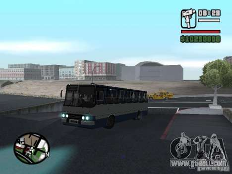 Ikarus 260.27 for GTA San Andreas back left view
