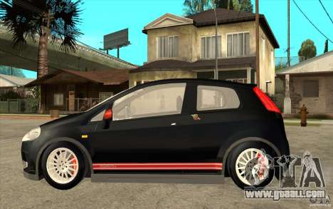 Fiat Grande Punto 3.0 Abarth for GTA San Andreas left view
