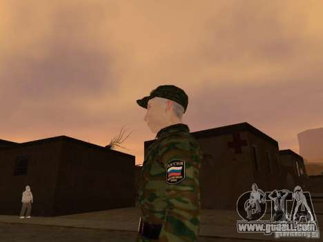 Soldiers of the Russian army for GTA San Andreas second screenshot