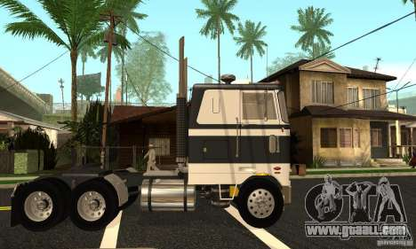 Peterbilt 362 Cabover for GTA San Andreas left view
