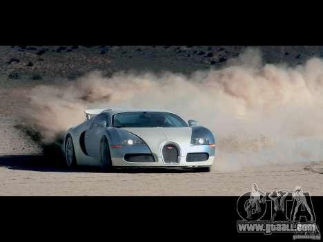 Loading Screens Bugatti Veyron for GTA San Andreas forth screenshot