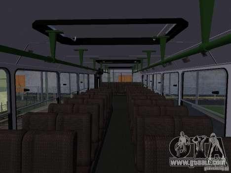 LIAZ 5256 Suburban for GTA San Andreas side view