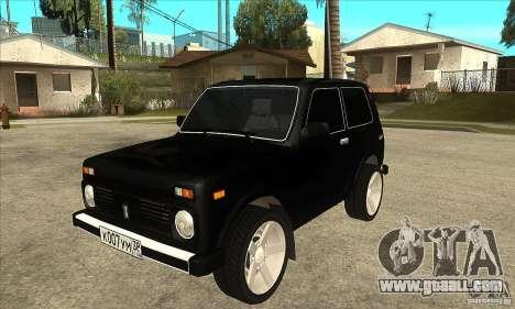 VAZ 21213 NIVA tinted for GTA San Andreas