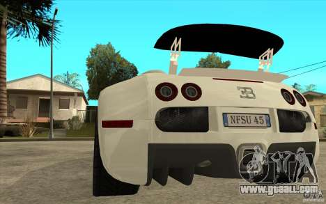 Spoiler for the Bugatti Veyron Final for GTA San Andreas