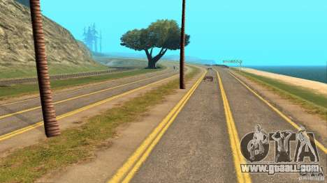 New HQ Roads for GTA San Andreas forth screenshot