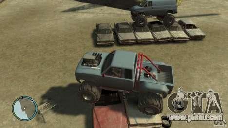 Bobcat megatruck 1.0 for GTA 4 back view
