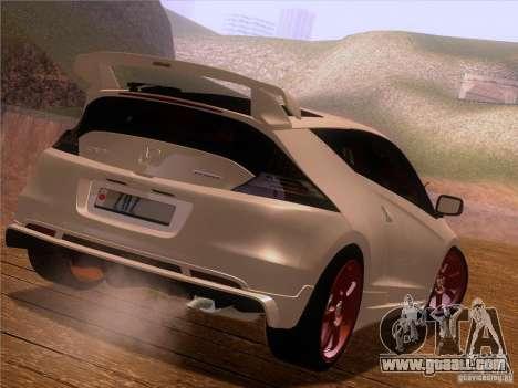 Honda CR-Z Mugen 2011 V2.0 for GTA San Andreas side view