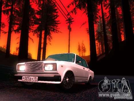 VAZ 2107 Lambo for GTA San Andreas