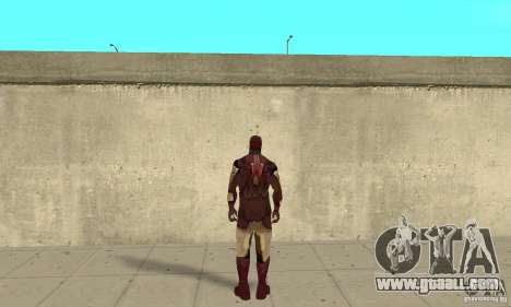 Ironman Mod for GTA San Andreas third screenshot