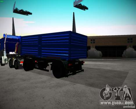 Kamaz 65117 Grain trailer for GTA San Andreas