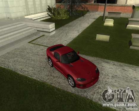 Dodge Viper GTS Coupe for GTA San Andreas left view