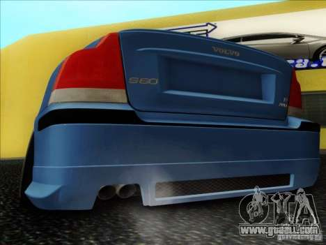 Volvo S60 for GTA San Andreas back view