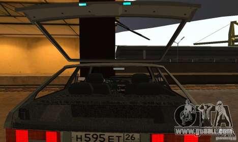 Vaz 2113 Suite v.1.0 for GTA San Andreas bottom view